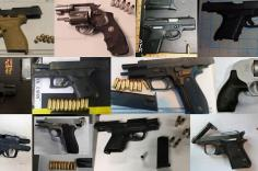 TSA discovered 73 firearms over the last week in carry-on bags around the nation. Of the 73 firearms discovered, 62 were loaded and 26 had a round chambered.