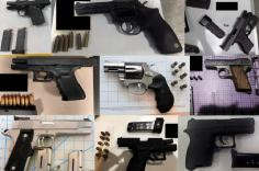 TSA discovered 70 firearms over the last week in carry-on bags around the nation. Of the 70 firearms discovered, 57 were loaded and 16 had a round chambered.