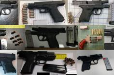 TSA discovered 86 firearms over the last week in carry-on bags around the nation. Of the 86 firearms discovered, 80 were loaded and 30 had a round chambered.