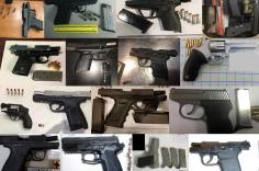 TSA discovered 81 firearms in carry-on bags around the nation last week. Of the 81 firearms discovered, 70 were loaded and 24 had a round chambered.