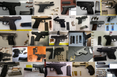 TSA discovered 84 firearms in carry-on bags around the nation from July 16th through the 22nd. Of the 84 firearms discovered, 71 were loaded and 36 had a round chambered.