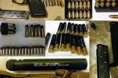 Firearms and Ammo all discovered in one carry-on bag at IAH