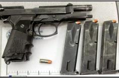 Loaded firearm discovered at LAS.