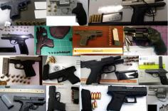 Discovered 58 firearms image