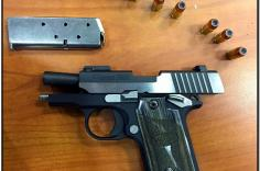 Loaded firearm discovered in carry-on bag at ATL.