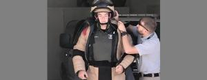 Suiting Up for bomb exercise