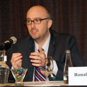 Deputy Assistant Administrator Ronald Gallihugh speaking