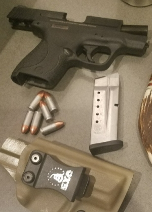 loaded firearm discovered this morning at the Birmingham-Shuttlesworth International Airport