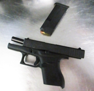 TSA officers caught this loaded handgun at the Burlington International Airport checkpoint on Saturday, June 1.