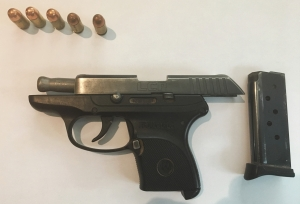 TSA officers prevented a man from bringing this handgun onto an airplane on Tuesday, August 21st at BWI Airport. (Photo courtesy of TSA.)