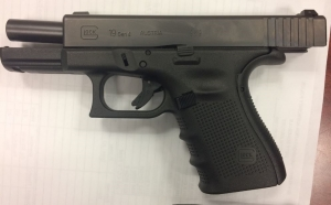 TSA officers prevented a man from bringing this loaded handgun onto an airplane on Monday, April 17, at BWI Airport.