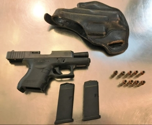 TSA officers prevented a Bedford, Pennsylvania, man from bringing this gun onto an airplane Sunday, Nov. 5, at BWI Airport. (Photo courtesy of TSA.)