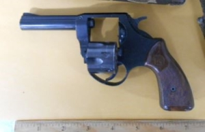 TSA officers prevented a man from bringing this loaded handgun onto an airplane yesterday at CHO Airport.