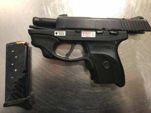 CLE gun catch, Sept. 25, 2018