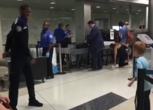 TSA Office and boy