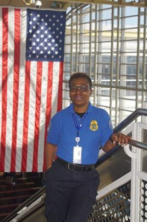 Ronald Reagan Washington National Airport TSA officer Juliet Gillette