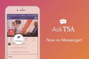 AskTSA now on Messenger.