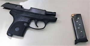 TSA officers prevented a man from bringing this loaded gun onto an airplane on Wednesday, December 13 at BWI Airport. (Photo courtesy of TSA.)