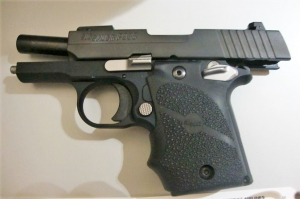 TSA officers prevented a man from bringing this handgun onto an airplane on Friday, May 5, at BWI Airport