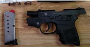 Handgun discovered by TSA at  Huntington Tri-State Airport