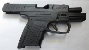 Firearm discovered by TSA.