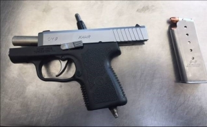 Handgun discovered by TSA at Newark Airport