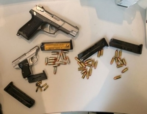 Firearms and ammunition discovered by TSA at BWI