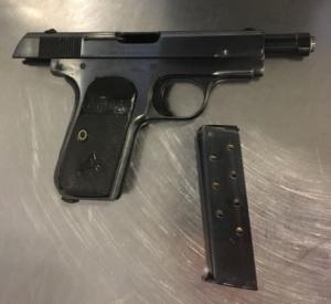 Handgun discovered by TSA at checkpoint