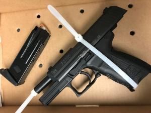 Firearm discovered by TSA officers at Newark Liberty International Airport