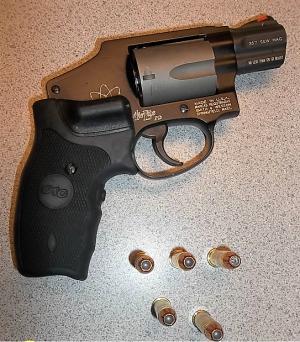 Gun Found at Harrisburg