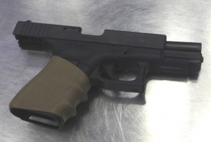 This loaded handgun was caught by TSA officers this morning at one of the checkpoints at JFK International Airport.