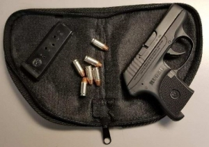 This .380 caliber handgun was detected by TSA officers at the Lynchburg Regional Airport checkpoint Tuesday, June 6.