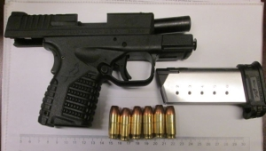 This .45 caliber semi-automatic handgun was detected by TSA officers at the Norfolk International Airport checkpoint on Tuesday, Aug. 23.