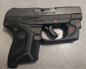 This .380 caliber handgun was caught by TSA officers Sunday at the Roanoke-Blacksburg Regional Airport. It was loaded with six bullets. (TSA photo)