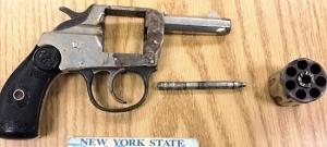 This handgun was caught at Syracuse-Hancock International Airport May 27.