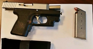 This loaded 9 mm handgun was stopped by TSA officers at a Richmond International Airport checkpoint on Thursday.