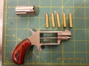 Gun catch at Augusta Regional Airport Sept. 19.