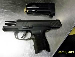 Gun in Harrisburg