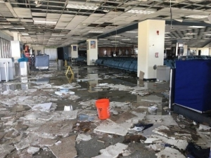 Cyril King International Airport hit hard by Hurricane Irma