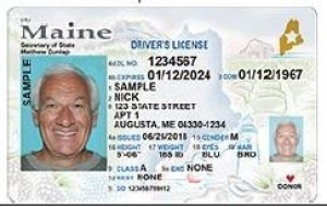 Maine REAL ID Example
