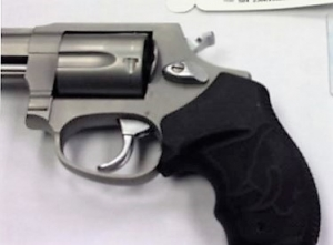 This .38 caliber revolver was detected by TSA officers at Morgantown Municipal Airport Sept. 19. It was loaded with five bullets. (TSA photo)