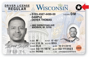 WI REAL ID Sample