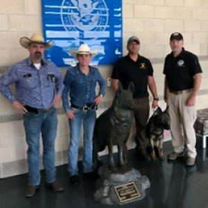 Transportation Security Administration provides canines to local southwest law enforcement
