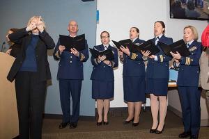 TSA celebrates Veterans' Day