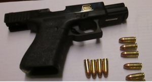 This 9 mm handgun was detected by TSA officers at the Norfolk International Airport checkpoint on Tuesday, Jan. 3. It was loaded with 15 bullets total.