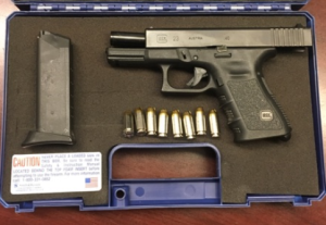 A man was caught with this loaded gun in his carry-on bag at the Norfolk International Airport checkpoint Tuesday, June 26. (TSA photo)