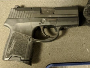 This .380 caliber handgun was detected by TSA officers at the Norfolk International Airport checkpoint  Thursday, Nov. 30. It was loaded with seven bullets.