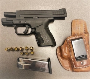 Gun Catch at ORF