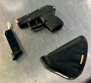 ORH TSA officers discovered a loaded .22-caliber firearm with eight rounds on September 18. (TSA photo)
