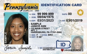 PA Drivers License Real ID
